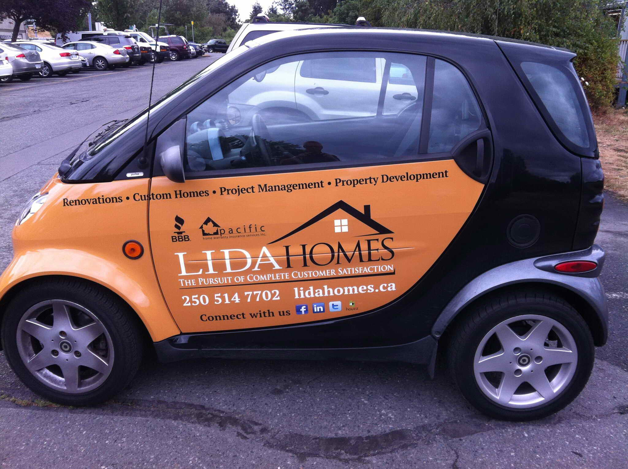 LIDA homes Smart car